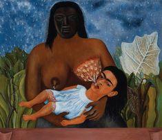 Frida Kahlo - My Nurse and I - 1937