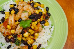 Mexican Shrimp with Cilantro Lime Rice