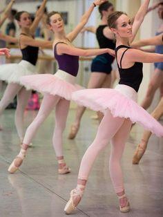 #pink #tutu #ballerinas