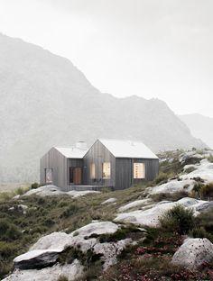 Vega House. Personal project, Full CG soft: 3ds max, ZBrush, Corona renderer, Ps Inspir architecture: Kolman Boye Architects