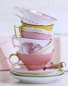 Tasses à thé de toutes les couleurs