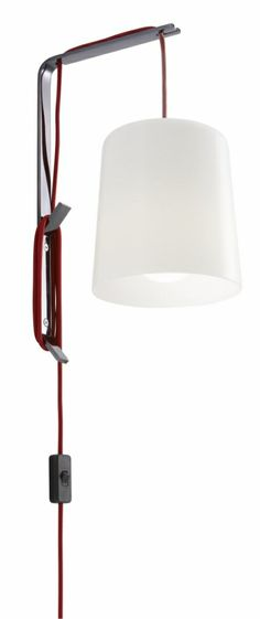 The Arianne Outdoor wall light. Can be place on the ground, a table or on the Hook. Hook can be sold separately. Ligne Roset, Outdoor Wall Lighting, Table Desk, Wall Lights, Flooring, Canning, Pendant, Home Decor, Appliques
