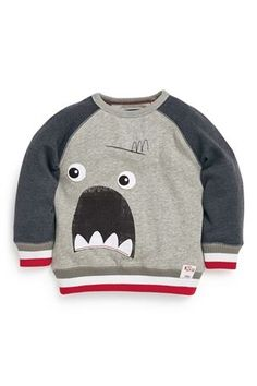 Buy Monster Face Crew Neck (3mths-6yrs) from the Next UK online shop