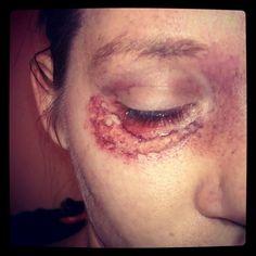 #specialfx #makeup by @Kristin Foreman