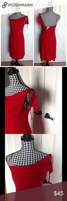 Laundry by Shelli Segal sexy red party dress 💗 Gorgeous red dress. Fully lined. Laundry by Shelli Segal Dresses Mini