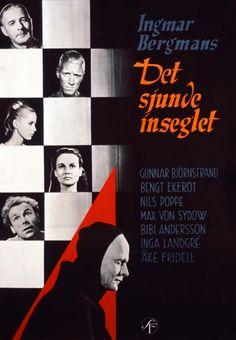 O Sétimo Selo (Det sjunde inseglet - 1957) Dir: Ingmar Bergman.