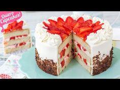 Food Cakes, Sweet Recipes, Cake Recipes, Cupcakes, Cupcake Cakes, Mini Cheesecake, Cake Fillings, Strawberry Desserts, Themed Cakes