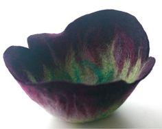 lovely felt bowl by krystal