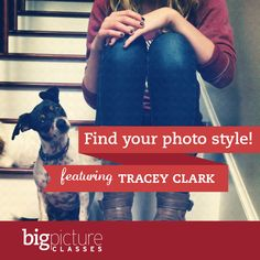 Hey, I know that face (and those knees) Big Picture Classes ... Online Education ... Scrapbooking, Photography, Journaling, Personal Wellbeing, and More!