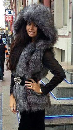 lovely in fox vest