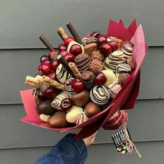 Sweet Beat perfection of colours and balance of shapes . Order before for the SAME DAY delivery Adelaide wide shop via link in bio . Food Bouquet, Gift Bouquet, Candy Bouquet, Makeup Bouquet, Orchid Bouquet, Hydrangea Bouquet, Peonies Bouquet, Chocolate Gifts, Chocolate Dipped