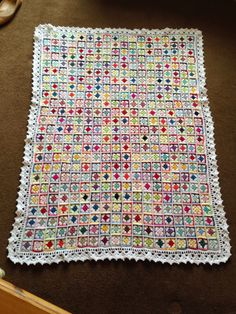 Kandipandi: The Springtime Throw - #crochet blanket