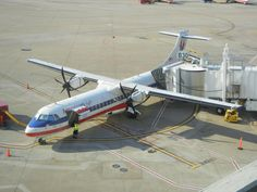 An image no longer seen at DFW -  American Eagle (Executive)'s ATR-72s operated for a time before being moved back to Miami