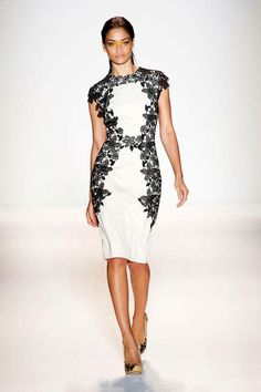 Spring 2013 Trend Report: Lace (Lela Rose)