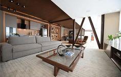 O Studio do Solteiro, espaço que a designer de interiores Cícera Gontijo apresenta na 20ª edição da Casa Cor Minas Gerais