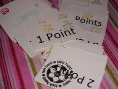 Reward System: Point System