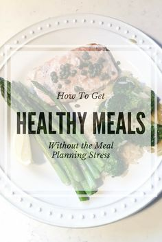 Dinner time is here. Are you prepared? Learn how to get healthy meals without stress. Your dinner is waiting for you in the fridge-- no planning necessary!