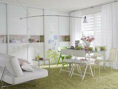 Apartamentos femenino y muy delicado en su decoracin