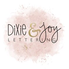Creating unique hand-drawn lettered cards by DixieandJoyLettering