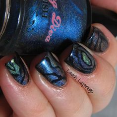 Lavish Layerings: Pirate Nail Art Challenge: Sea Creatures