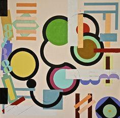 "Saatchi Art Artist Julien Corcoran Porisse; Painting, ""8 Circles"" #art"