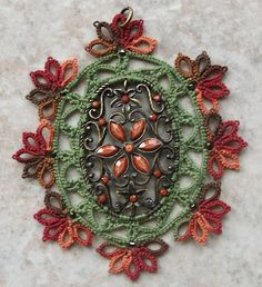 pendent, $25 on face book:  west pine creations