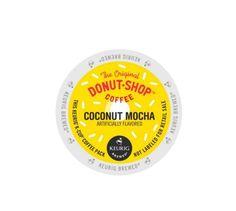 K-Cup® Pack 18-Count The Original Donut Shop® Coconut Mocha Flavor Coffee #DonutShop