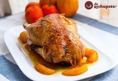 Si no lo habéis probado nunca, os lo recomiendo. Empezamos el lunes con este pato a la naranja http://www.recetasderechupete.com/pato-a-la-naranja/11656/ #Pato #naranja
