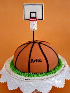 D Basketball Cake Tutorial