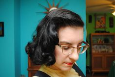 How I do a late 30s/early 40s sponge roller set (and avoid dents!) | by gum, by golly!