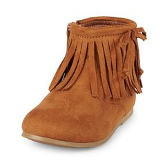 Her little feet will look so sweet in these fashionable fringed boots! Big Fashion, Little Prices