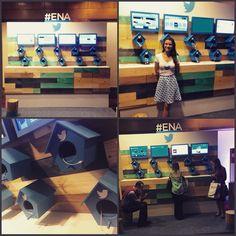 Hoje acontece o  #ENA. Quem passar por lá poderá conferir o stand do @TwitterBrasil em parceria com a @FMaltaEventos