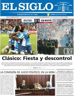 Diario El Siglo - Jueves 7 de Marzo de 20 13