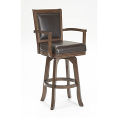 "Found it at Joss & Main - Ambassador 30"" Swivel Bar Stool with Cushion"