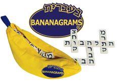 Bananagrams Hebrew version, $20