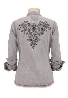 Джинсовые рубашки - идеи для переделки (подборка) / Рубашки / ВТОРАЯ УЛИЦА