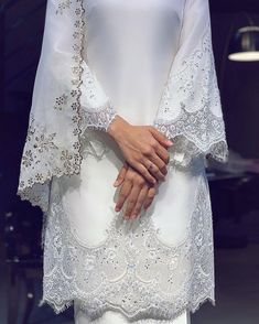 10 Stunning Dresses for Non-Traditional Brides Malay Wedding Dress, Diy Wedding Dress, V Neck Wedding Dress, Wedding Gowns, Wedding Cakes, Muslimah Wedding Dress, Disney Wedding Dresses, Pakistani Wedding Dresses, Hijab Bride