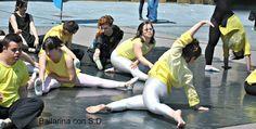 Bailarina con sindrome de down
