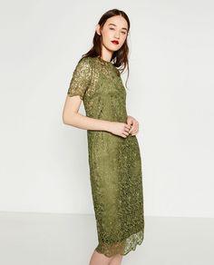 2772ddca7c044 9 meilleures images du tableau Robe longue Zara   Zara dresses, Zara ...