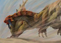 Monster Hunter Sand Barioth