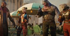 Justice League Game, Justice League Trailer, Harley Quinn, Evil Superman, Videogames, Squad Game, Captain Boomerang, King Shark, Video Game Trailer