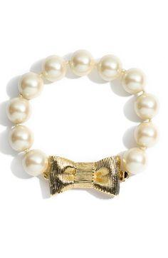 kate spade new york 'bow bracelet'