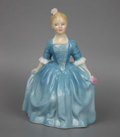 MANUFACTURE: Royal Doulton (ENGLAND) NAME: Child from Williamsburg NUMBER: HN2154 ISSUED: 1964 RETIRED: 1983 DESIGNED: Margaret Davies CONDITION: excellent, no chips, no cracks, no repairs. No origina