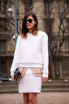 See: Milan street style fashion week A/W 2013.