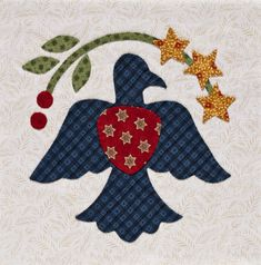 Martingale - Inspired by Tradition (Print version + eBook bundle) Applique Templates, Applique Patterns, Applique Designs, Quilt Patterns, Quilting Ideas, Bird Applique, Wool Applique, Applique Quilts, Mini Quilts
