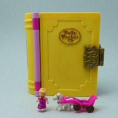 1995-polly-pocket-sparkling-princess-palace-Bluebird-Enchanted-storybook-Livre