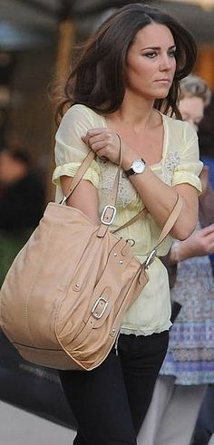 Kate Middleton--wonder if she is irritated with cameras in her face all the time...