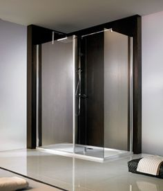 Seville Walk In Shower Enclosure Shower Enclosure, Master Bath Shower, Glass Shower Enclosures, Walk In Shower, Tall Cabinet Storage, Locker Storage, Safety Glass, Frameless Glass Shower Enclosure, Walk In Shower Enclosures