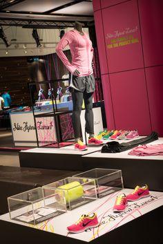 Nike Interior Display | Flyknit by Millington Associates | Niketown, London http://patriciaalberca.blogspot.com.es/