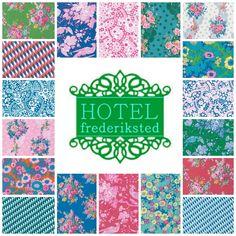 Hotel Frederiksted - 18 Fat Quarter Set - Jennifer Paganelli - Free Spirit